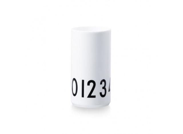 Design Letter Porcelæn Vase 0-9 15cm