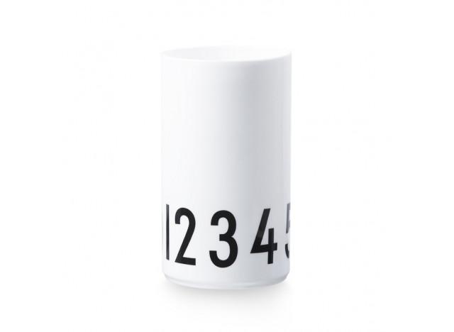 Design Letter Porcelæn Vase 0-9 20cm