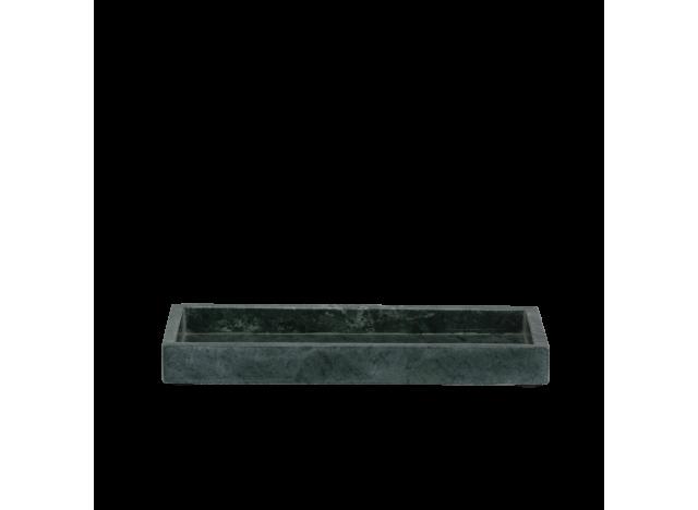 Fad Grøn marmor m kant