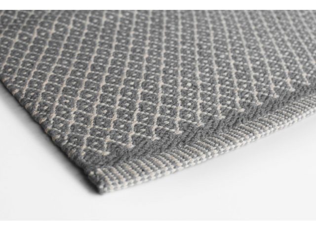 Floor Mat Rhombe Light Grey