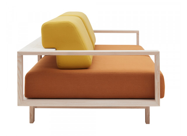 Cushion to Wood sofa bed - Softline