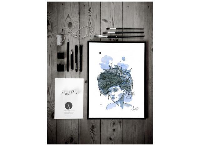 Blue Man - Loise Haugaard