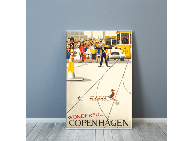 Wonderful Copenhagen Poster - small