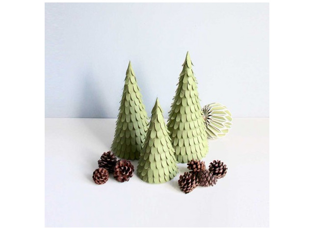 Christmas Trees - Set of 3 - 221814cm