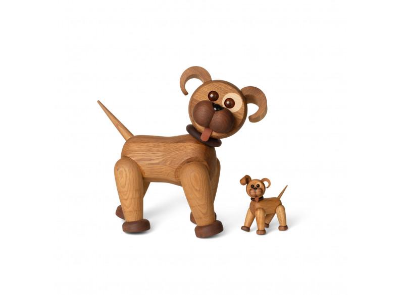 Happy the dog XL - Oak/Ash