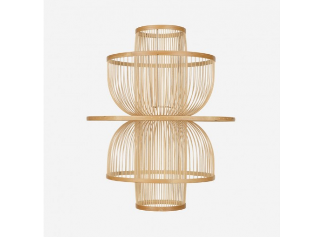 Lampshade Bird Cage light bamboo