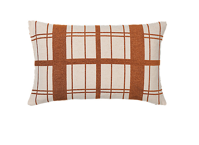 Pude Chequer 40X60 Rust