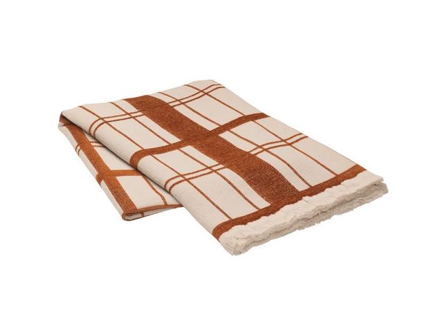 Plaid Chequer Cotton 130 x 180cm
