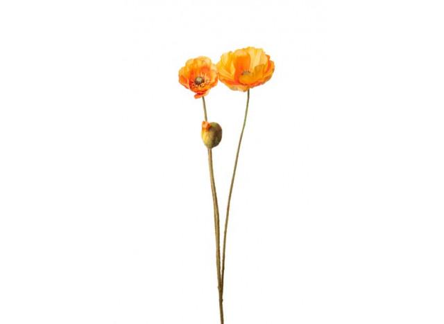 Valmue 75cm, orange