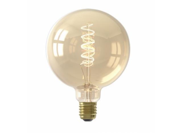 Bulb LED 4 watt - spiral gold 200 LM