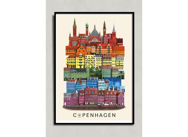 Poster Copenhagen PRIDE Martin Schwartz A3