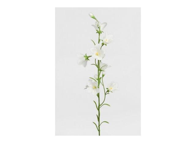 Artificial bell flower, white 65cm