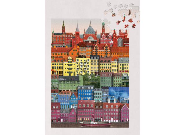 Puzzle Rainbow Copenhagen 1000pc
