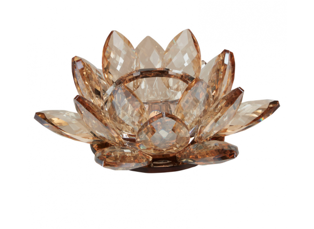 Lysestage Lotus Amber Small
