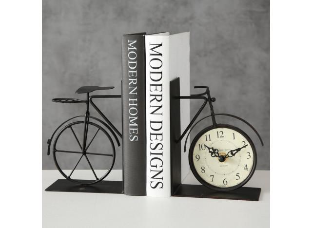 Bogstød Cykel og Ur H15cm