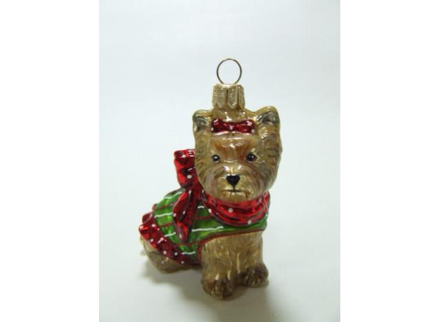 Christmas Ornament Yorkshire Terrier