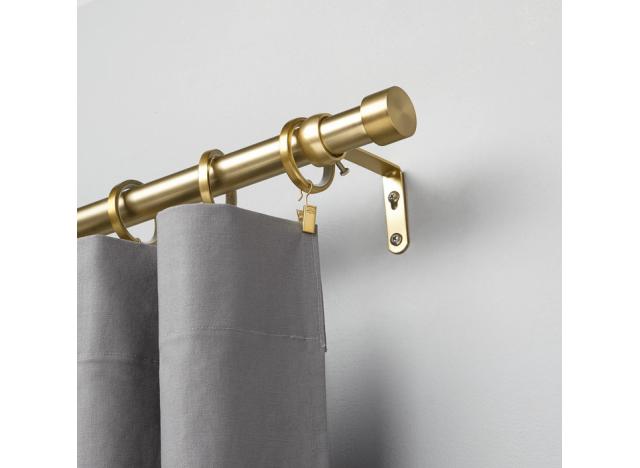 Curtain Rod Brass