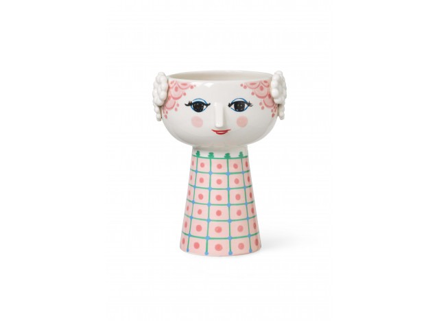 Vase Eva Pink H18,5cm