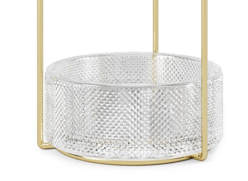 Tesora Jewelry Stand Brass