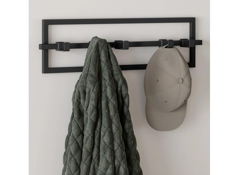 Coat rack Cubiko Black