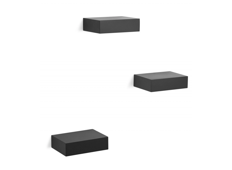 Showcase floating shelfs 3-del