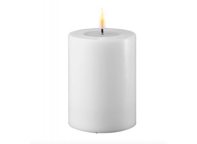 Bloklys LED Ø7,5 Hvid