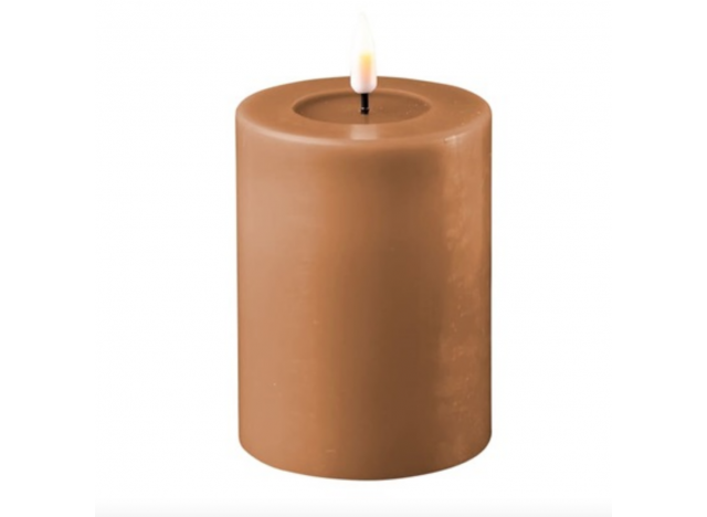 Boklys LED Dia 7,5 Caramel