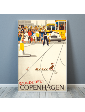 Wonderful Copenhagen Poster - large