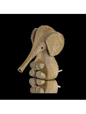 Lucie Kaas Baby Elephant - Smoked oak