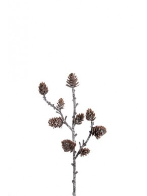 Twig with cones, 28 cm