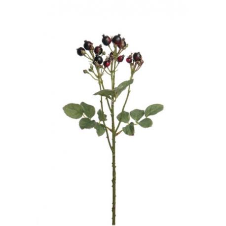 Bærkvist 50cm, vinrød