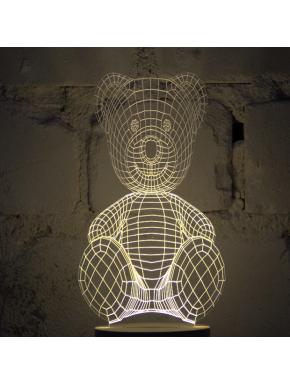 Teddy Bear Bulbing Lamp