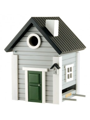 "Birdhouse ""Multi"" Grey"