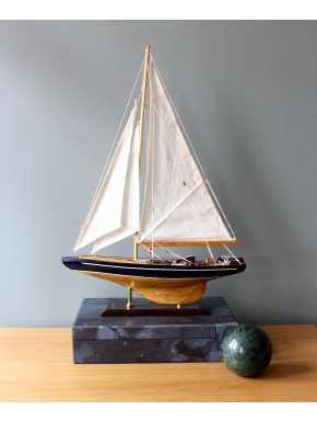 Model Sailboat blue - 61 cm