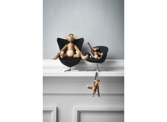Monkey Mini Teak 10cm Kay Bojesen