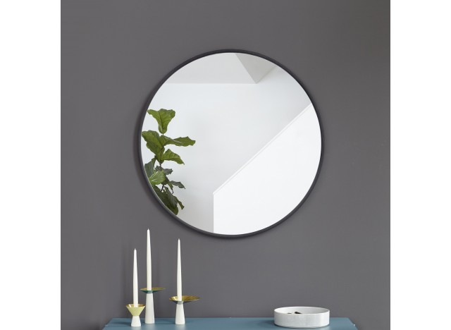 HUB Wall Mirror Black - Large