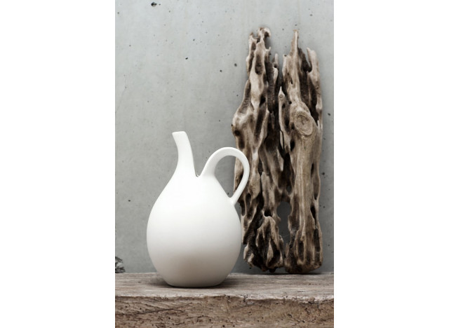 The split pitcher - White Large
