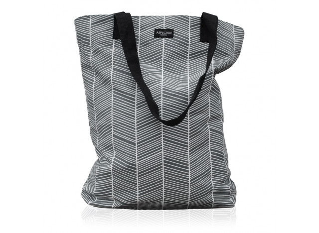 Bag Herringbone Dark Grey