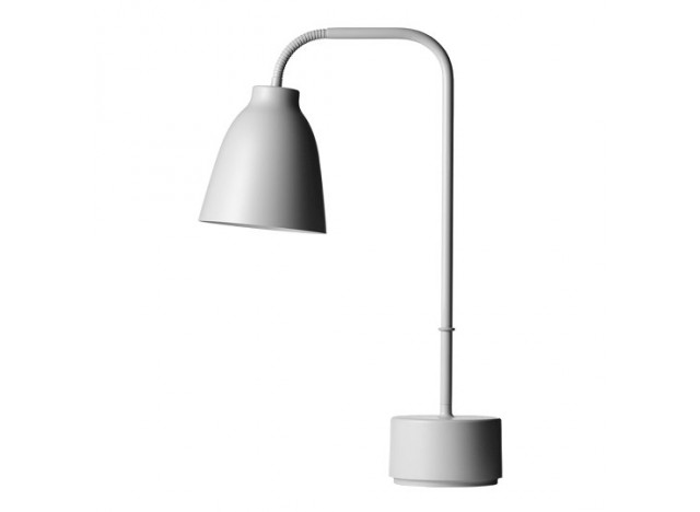 Caravaggio Read bordlampe, grey 25