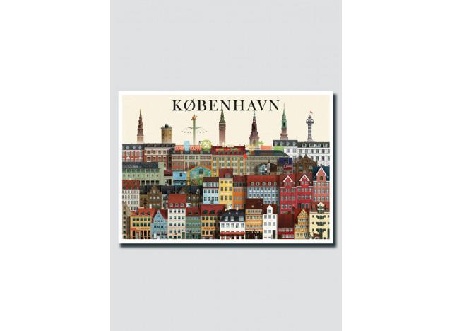 København kort A5 nr IV