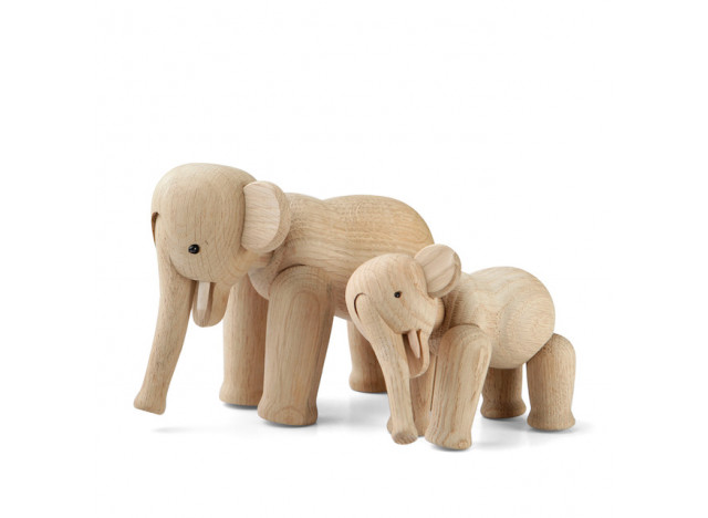 Elephant mini - Kay Bojesen, oak