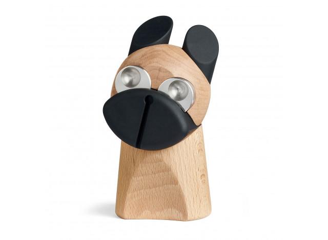 Hund med stål øjne