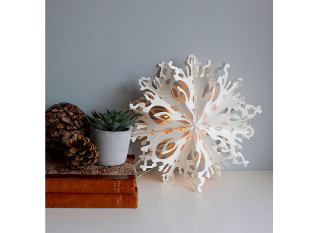 Snow Flake Julie LED 30cm