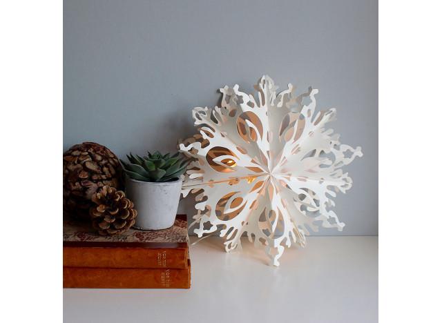 Snow Flake Julie LED 30cm