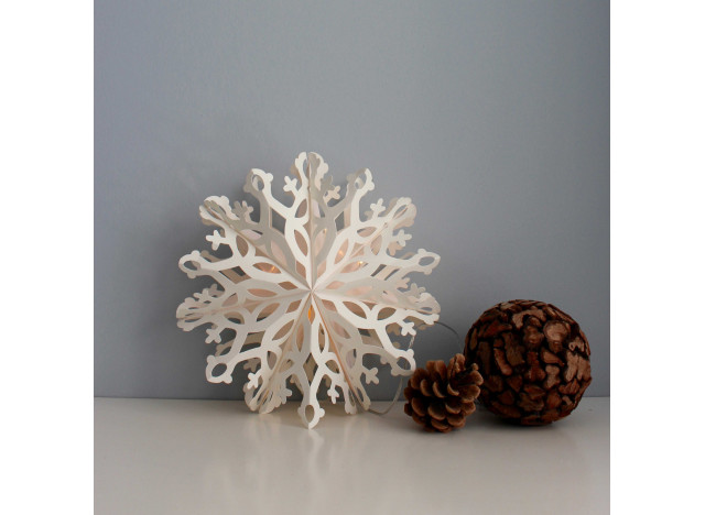 Snow Flake Frida LED 25cm