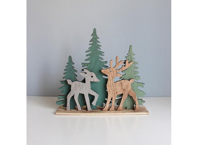Hjorte i skoven