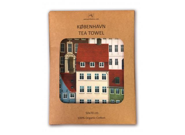 """Tea towels Copenhagen """"København"""""""