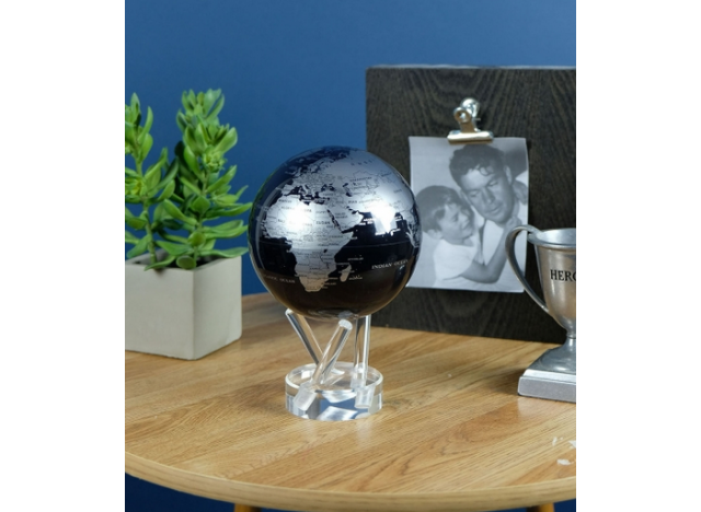 Moving Globe BlackSilver Ø15,24cm