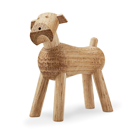 Terrier dog Tim - oak - Kay Bojesen
