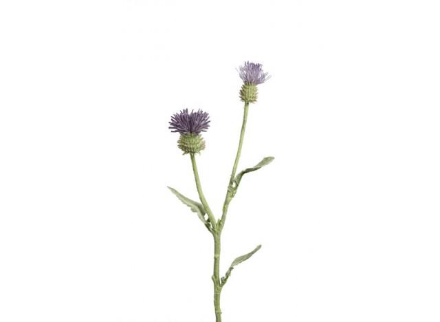 Tissel 54 cm. lilla